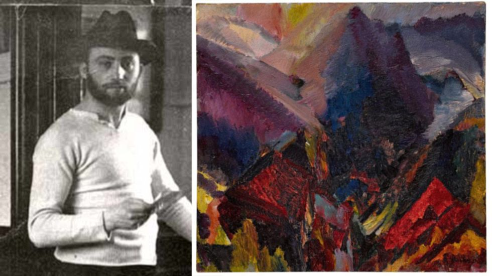 David Bomberg y su obra «Sunrise in the mountains, Picos de Asturias»