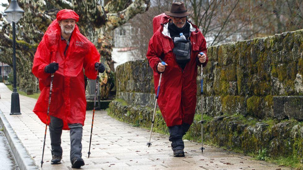 Un recorrido por el Camino de Invierno en el entorno de la localida de Belesar, entre Chantada y O Saviñao