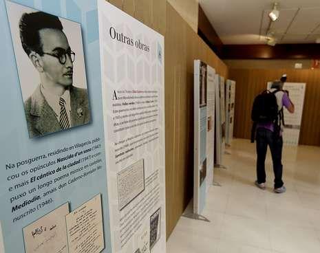 A exposición divulga a vida e a obra de Díaz Castro.