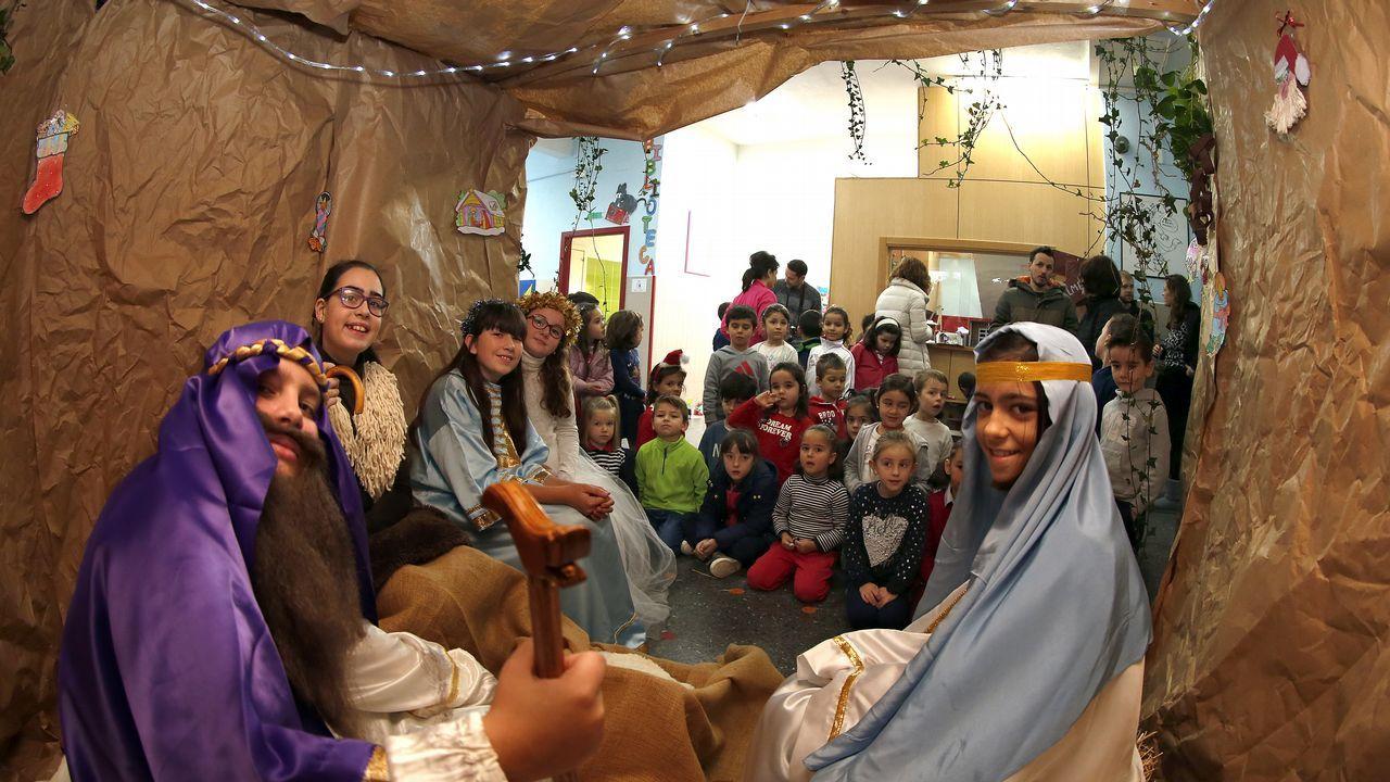 Festival de Navidad en los colegios de Barbanza, Muros y Noia.