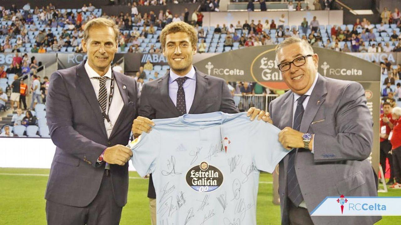 Nico Rodríguez nominó a su club, el Náutico, y este, a su vez, al Celta