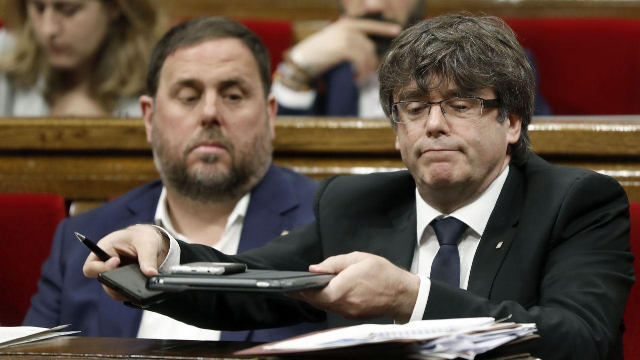 Rajoy dice que cumplirá la ley en Cataluña