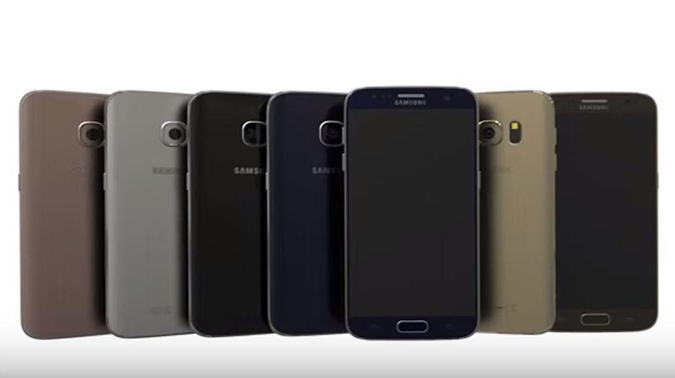 Así serán los nuevos Galaxy S7 y S7 Edge.Matías Rey Mourelle, de 8 años, con sus padres en la vivienda familiar de Milladoiro.