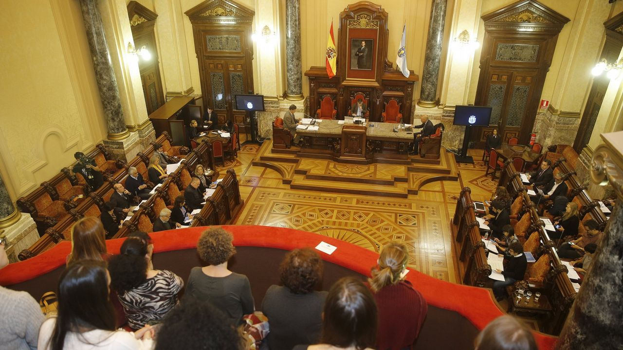 En directo: pleno ordinario del Ayuntamiento de A Coruñadel 10 de diciembre