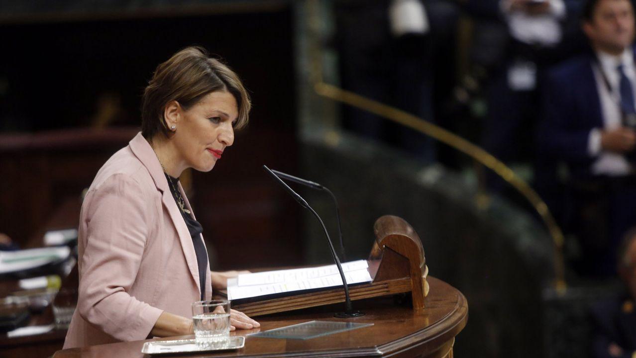 Irene Montero confirma que está embarazada de una niña.Xosé Manuel Beiras