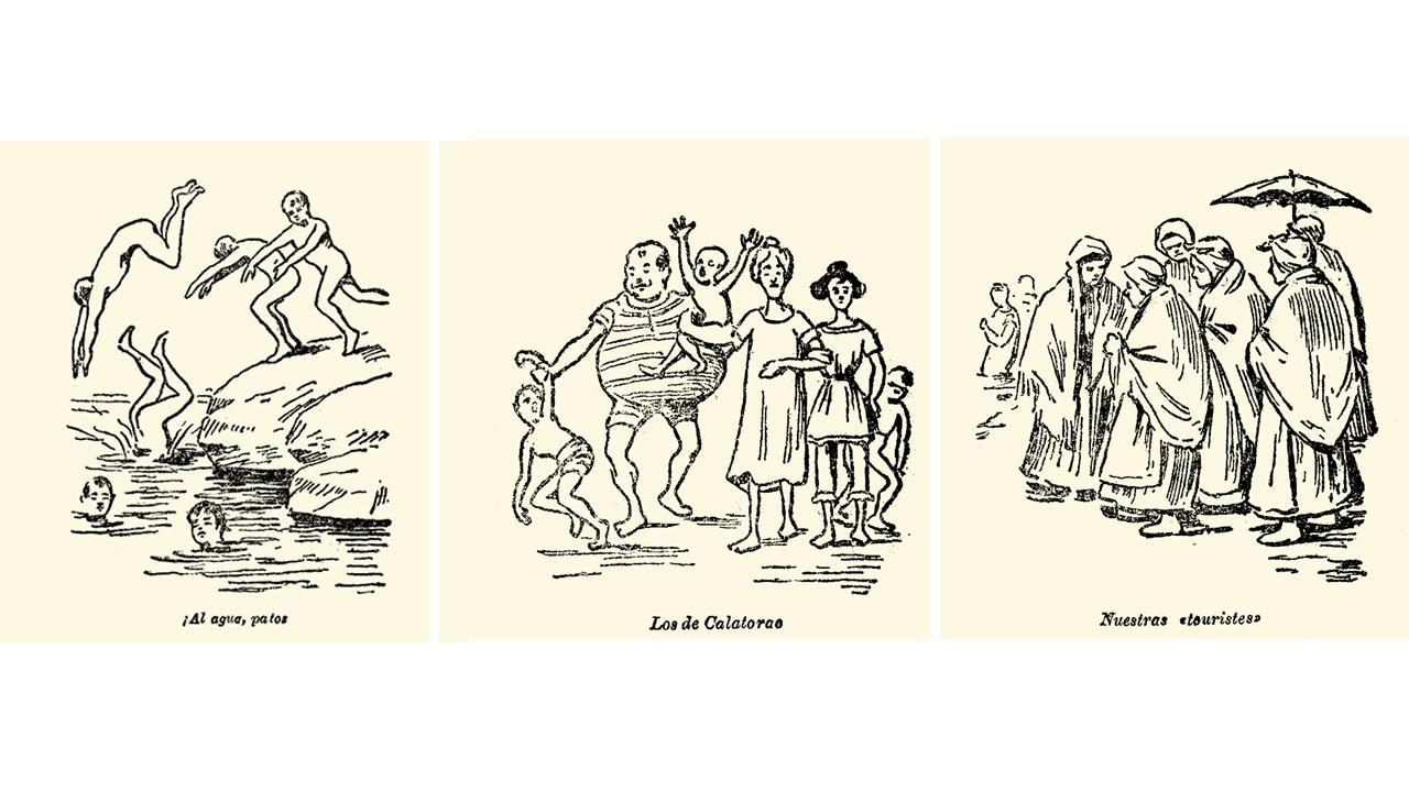 Hemeroteca.Cabreiroá, desde donde El Hidalgo de Tor (Francisco Camba) envió la crónica que cerraba su gira de 1907 por los balnearios gallegos.