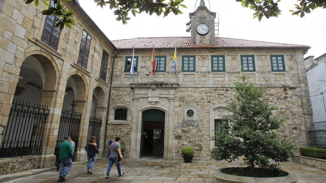 Árbol retirado por el GES de Ortigueira
