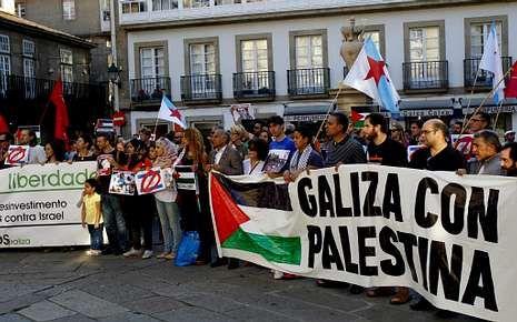 Enfrentamientos en Santiago.O Toural será el lugar de las movilizaciones como la de ayer.