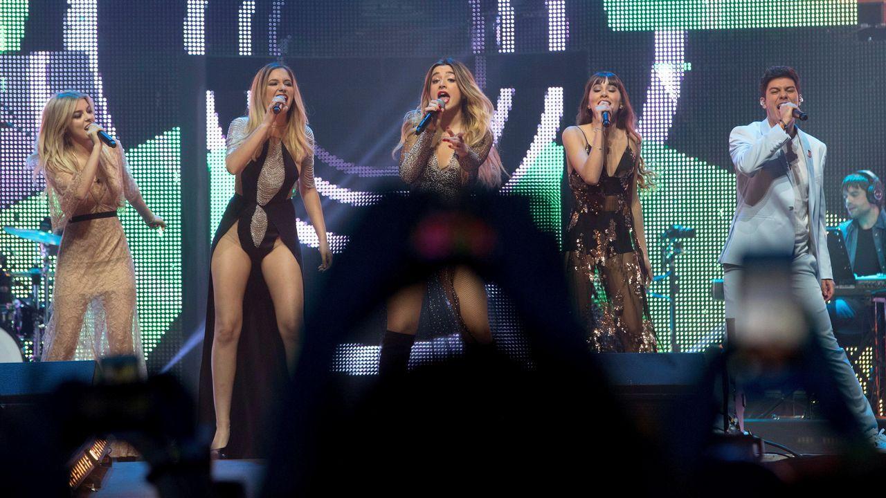 Las imágenes del primer concierto de la gira de «OT 2017».Amaia, sobre el escenario