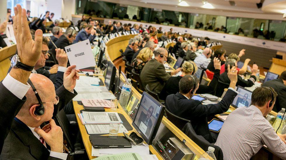 Un encuentro del Comité de las Regiones en Bruselas