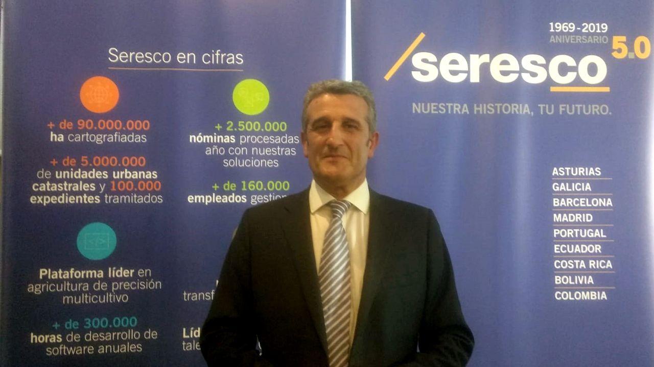 Vista general de la cárcel de Asturias.Manuel Ángel Busto, director general de SERESCO