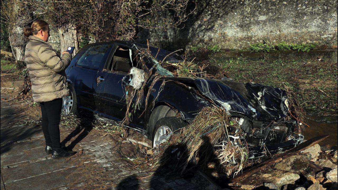 Riada mortal en Xunqueira, en Viveiro, que se llevó por delante la vida de una vecina de 82 años de edad.
