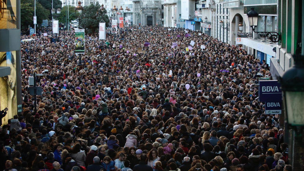 En directo: Las mujeres gallegas toman las calles este 8-M en una ...