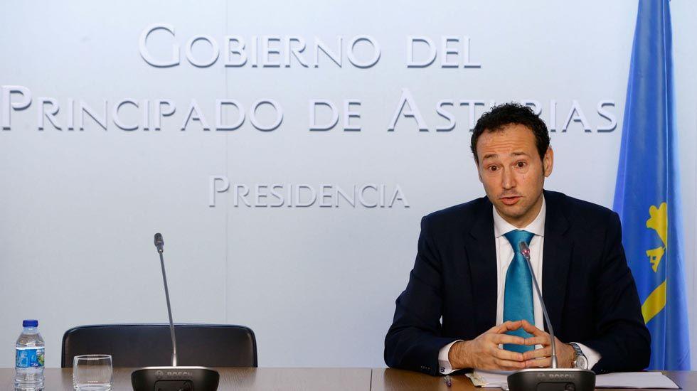.El consejero de Presidencia, Guillermo Martínez