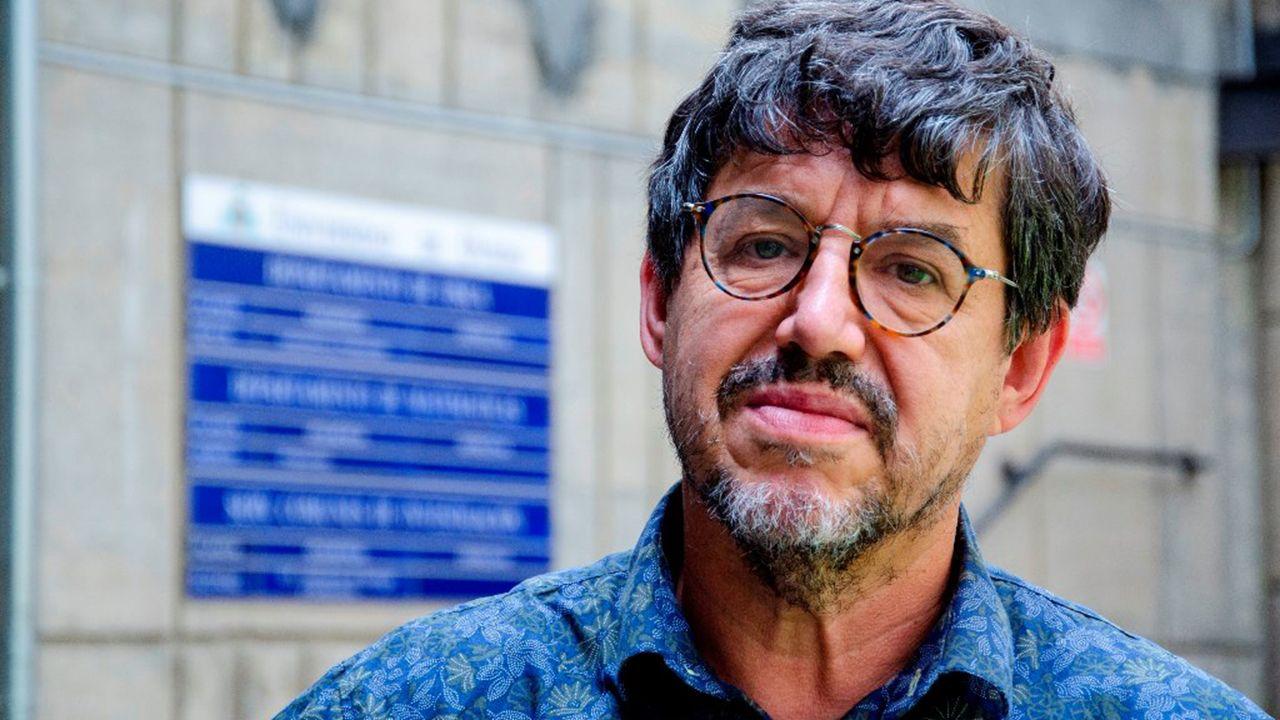 El rector de la Universidad de Oviedo, Santiago García Granda.Juan Luis Fernández Martínez