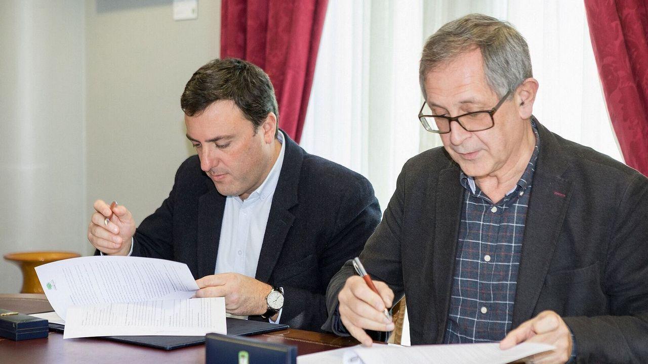 De izquierda a derecha: Adrián Rodriguez, Daniel Fernández y Juan Carlos Barros, los tres fundadores.