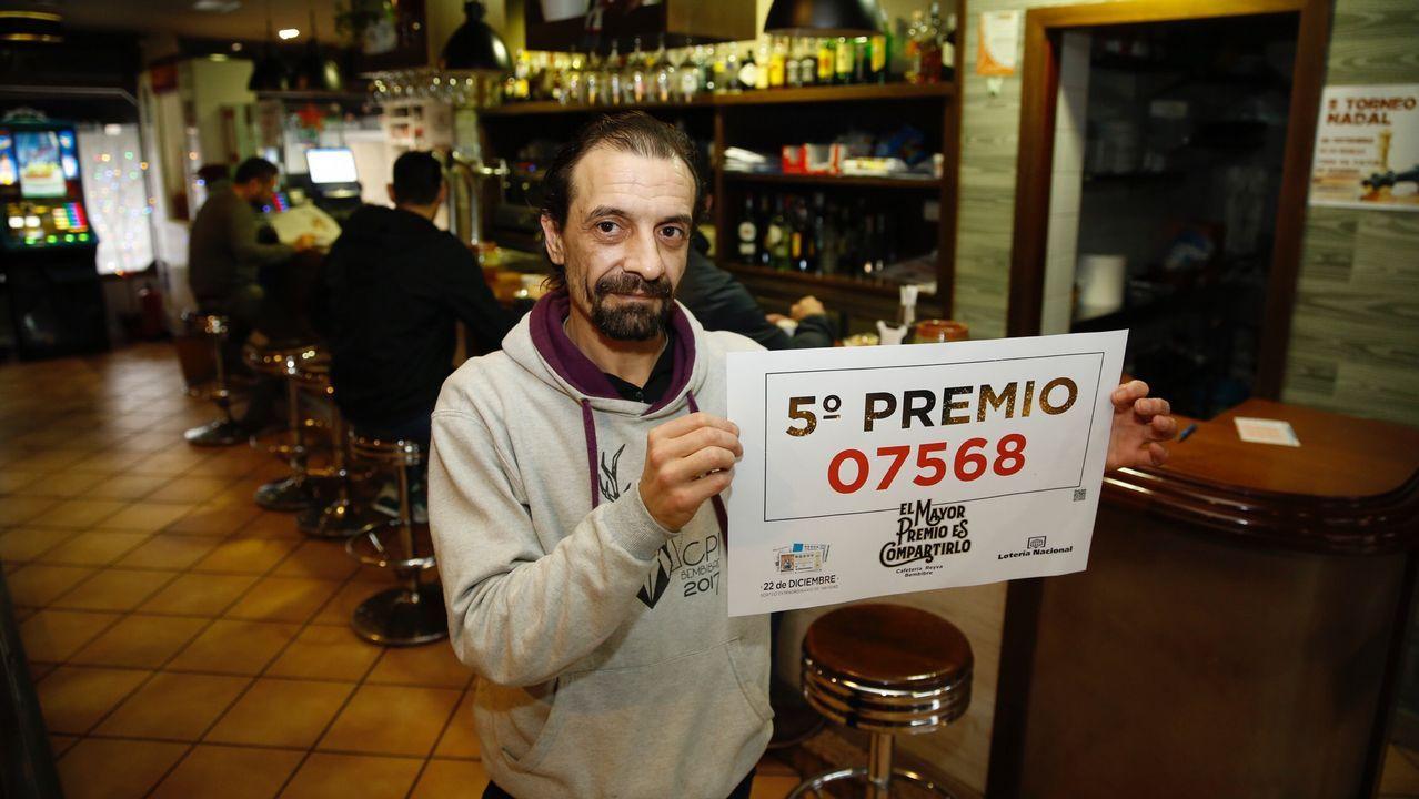 Compostela, la capital de la suerte