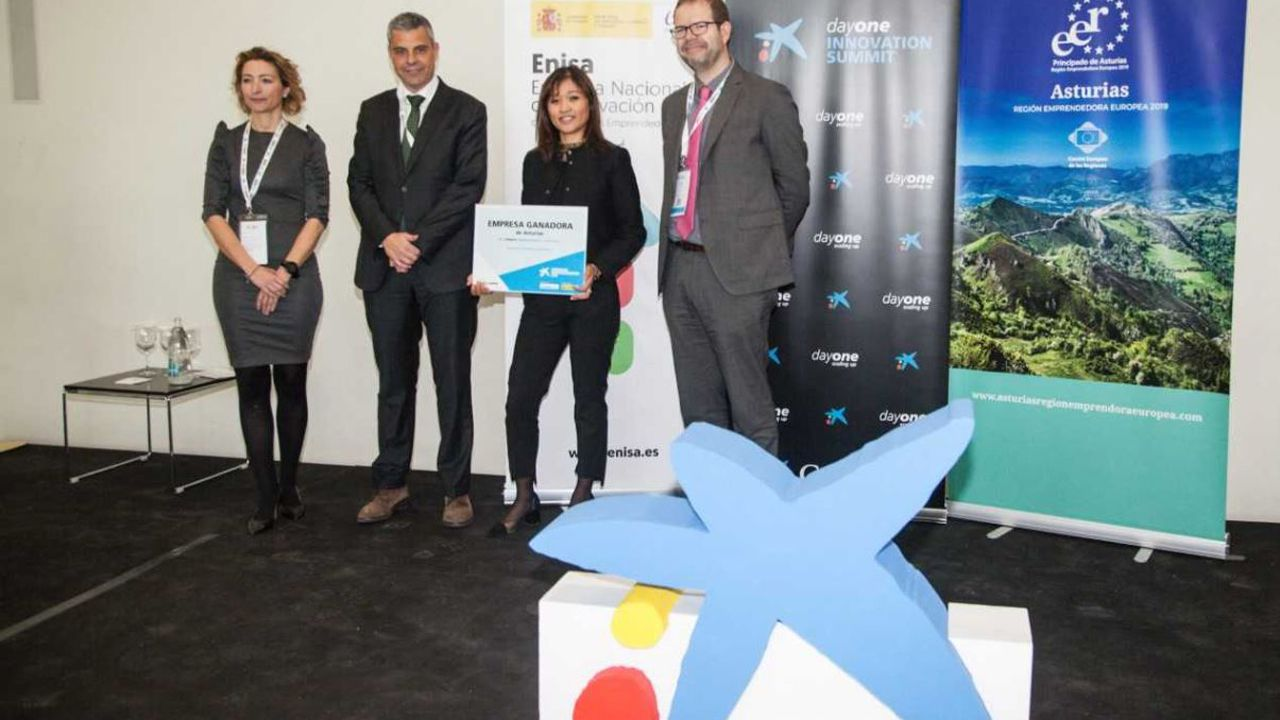 La empresa Triditive gana los Premios EmprendedorXXI en Asturias