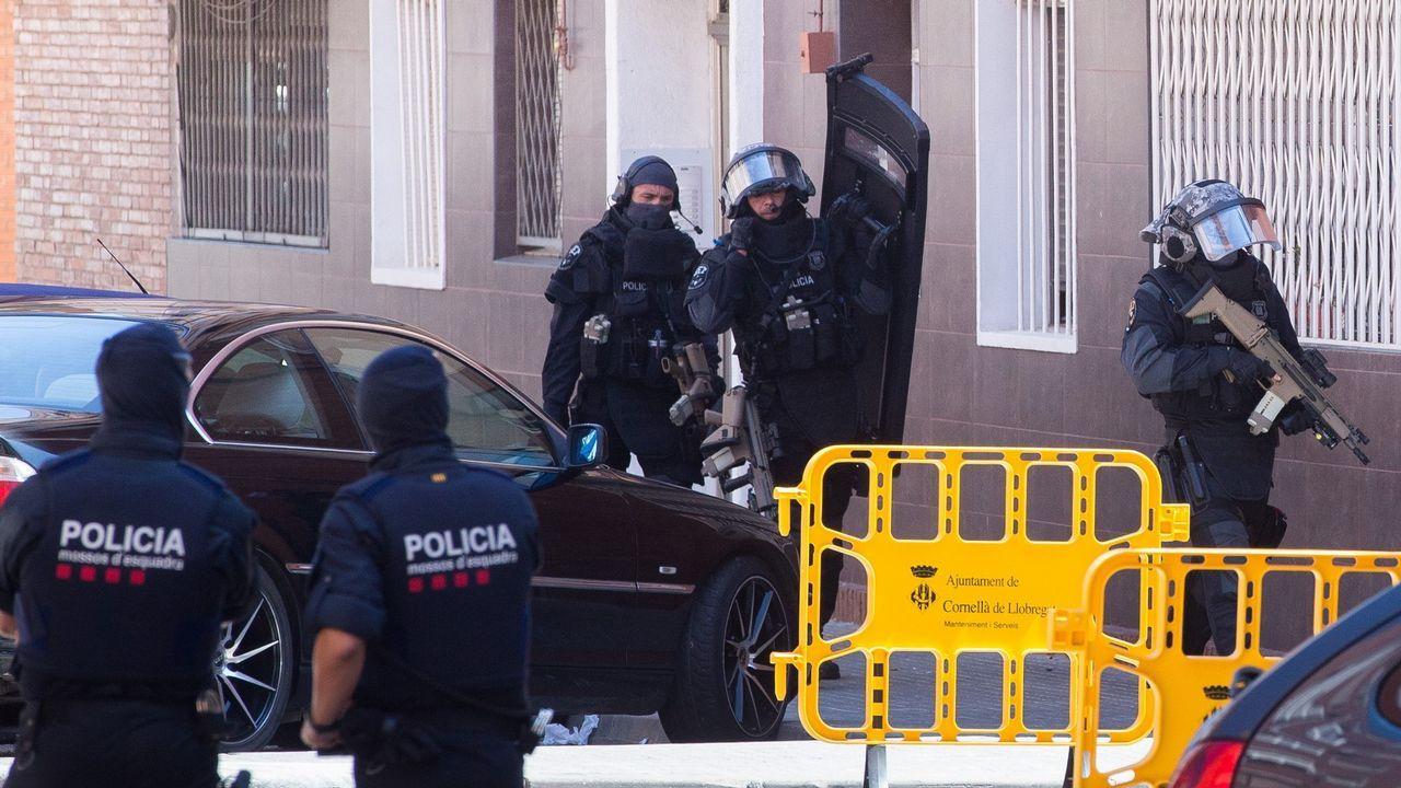 Los mossos, tras abatir a un hombre: «Nuestra actuación fue proporcionada»