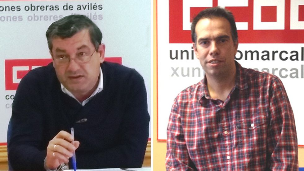 José María Guzmán Pacios y José Manuel Zapico