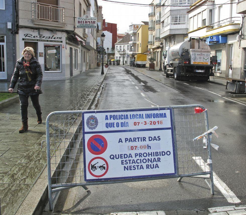 Ayer y hoy estará cortada al tráfico Pablo Iglesias.