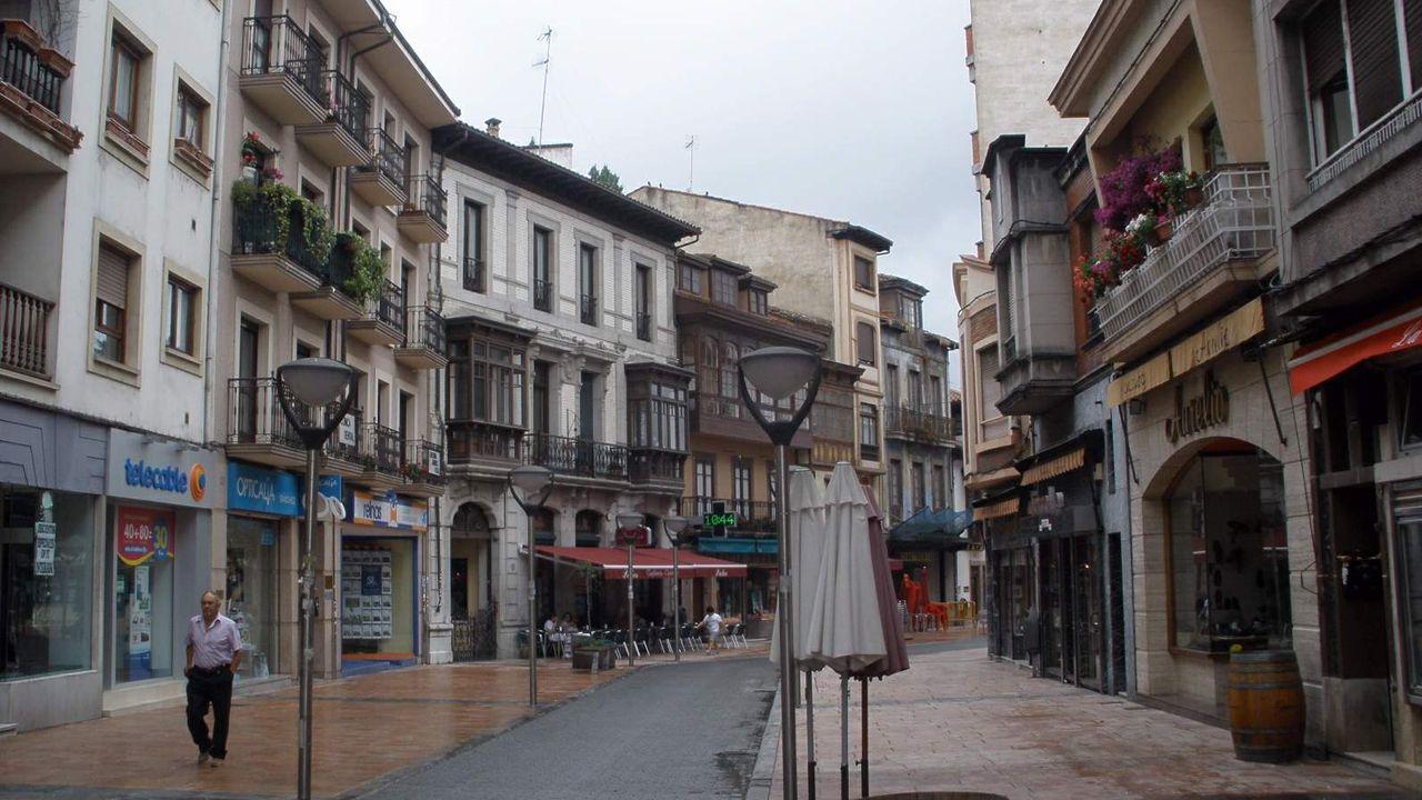 Casco urbano de Grado.