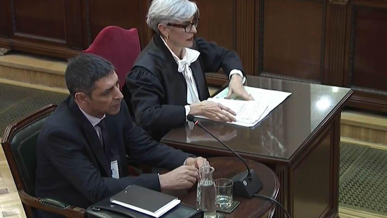 En directo y en streaming, el juicio del procés