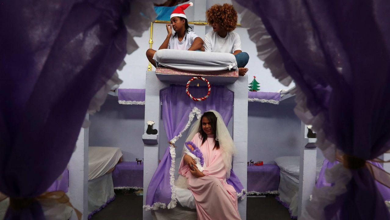 Función de Navidad en una prisión de Brasil