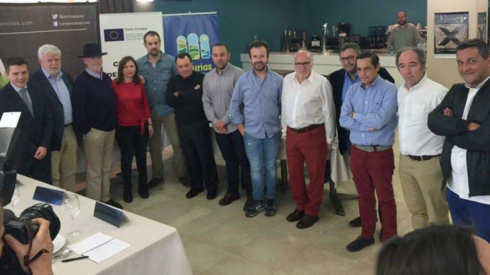 El jurado de la décima edición del concurso de Asturias de pinchos.El jurado de la décima edición del concurso de Asturias de pinchos