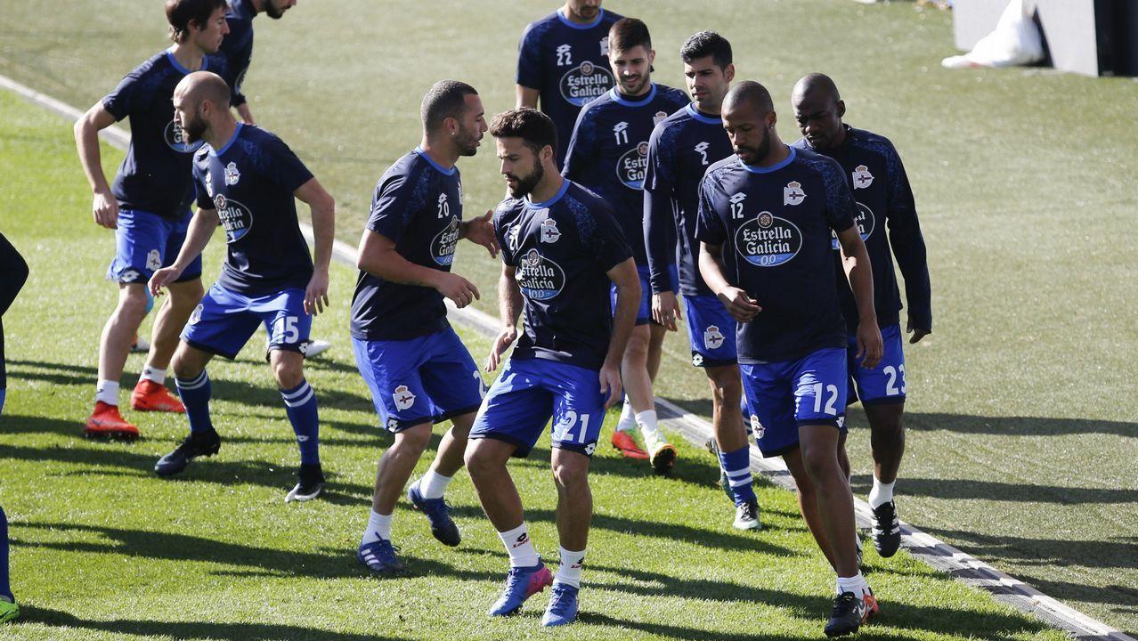 Diego Cervero celebra su gol número 100 al estilo de Michu