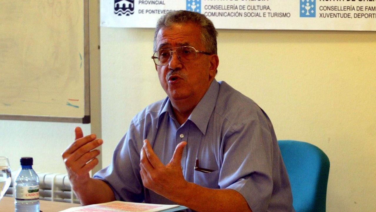 ¿Cómo es un «piso colmena»?.Josep Fontana en Pontevedra, en una imagen de archivo