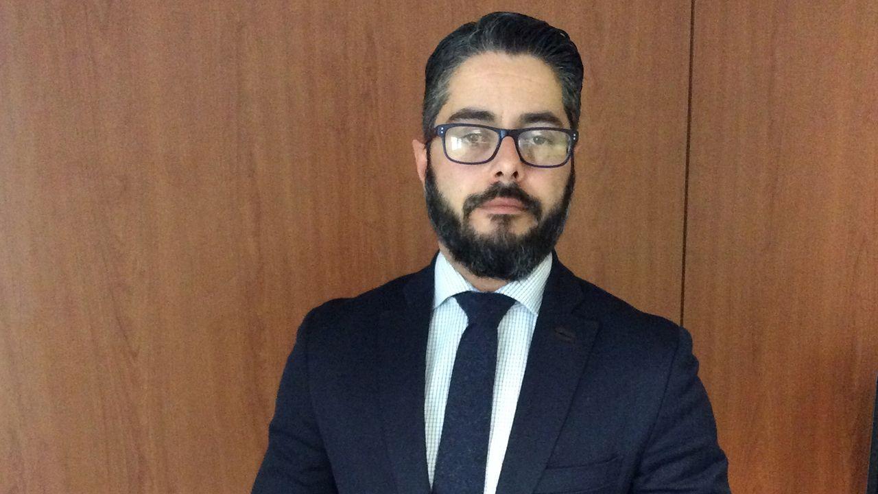 Dinero.Gerardo Antuña, concejal del PP en el Ayuntamiento de Oviedo