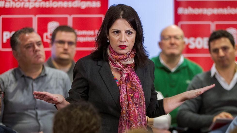 La vicesecretaria general del PSOE, Adriana Lastra (foto), ha asegurado hoy que este partido tiene la  obligación ética y moral  de salvar a la gente de este país de la  derecha del PP y de la derecha de Ciudadanos , formaciones a las que ha acusado de querer acabar con el estado del bienestar y con las pensiones