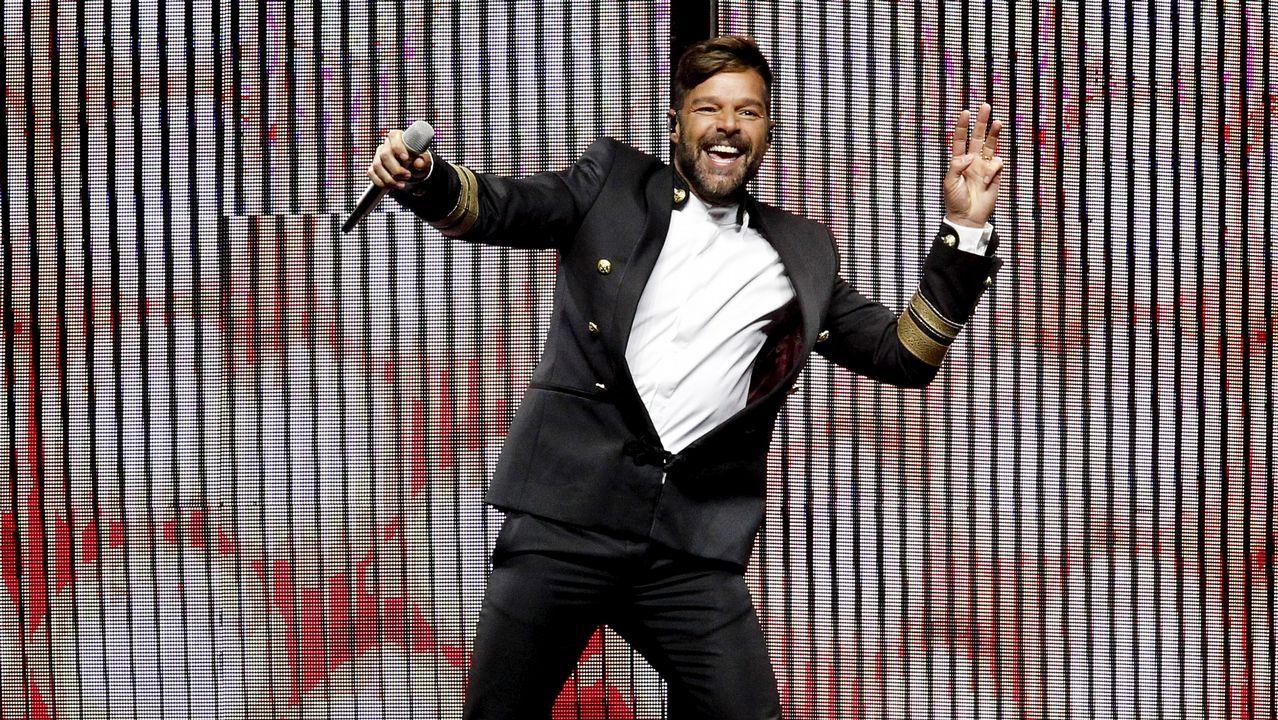 Ricky Martin hace vibrar el Monte do Gozo
