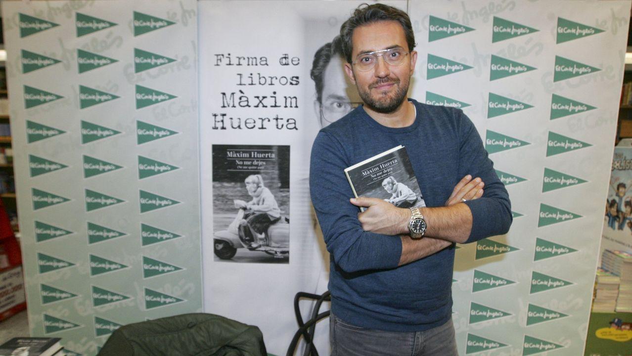.Ministro de Cultura y Deporte: Maxim Huerta