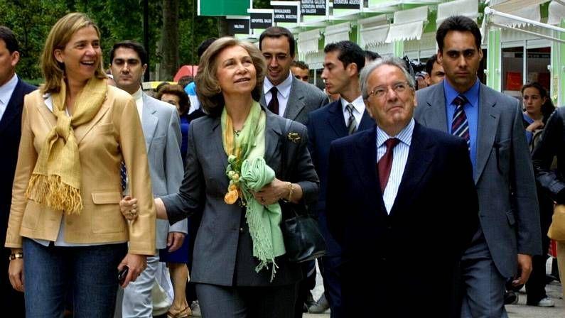 La reina Sofía, con sus nietos en Mallorca
