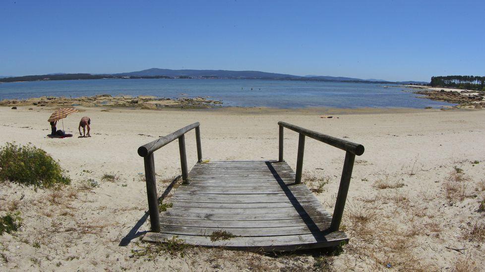 Illa de Arousa. Playa de Camaxe