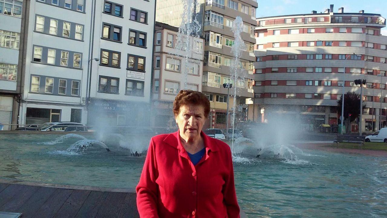 Adelina Louzao, 81 años. Nació en Palas de Rei y vive en Lugo. Fue labradora