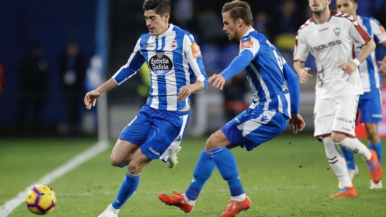 El Dépor sufrió en Cádiz su peor derrota de la temporada