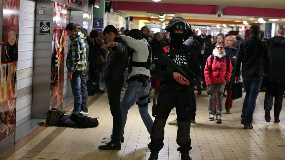 NICOLAS MAETERLINCK | AFP