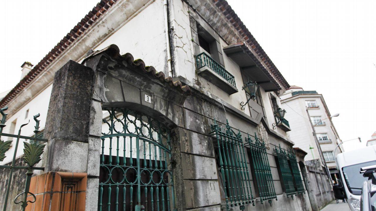 Así es la casa que Marcial Dorado poseía en Vilagarcía