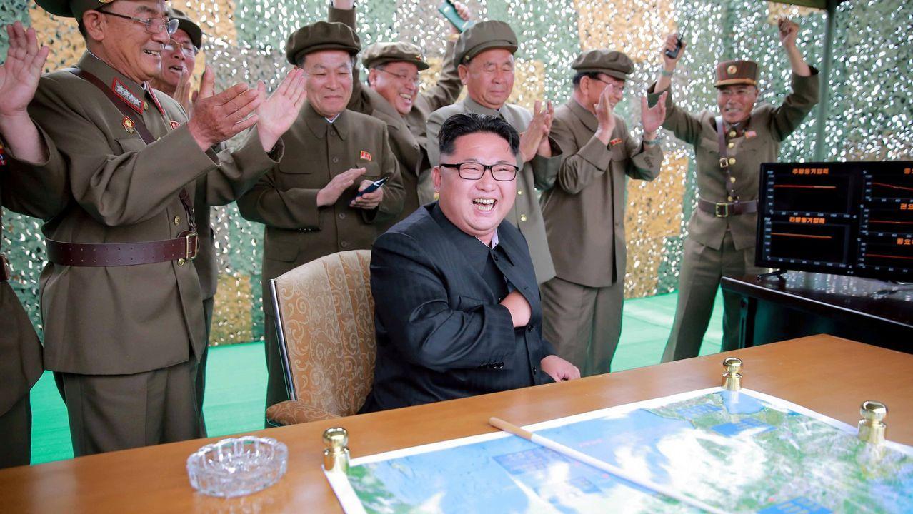 Así fue el lanzamiento del misil norcoreano.El estudiante Otto Warmbier, durante una comparecencia en febrero del 2016, tras su detención
