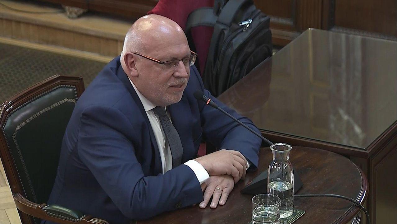 El exconsejero de Empresa, Jordi Baiget, ha reconocido que fue destituido en julio del 2017 por criticar la hoja de ruta independentista del entonces presidente Puigdemont