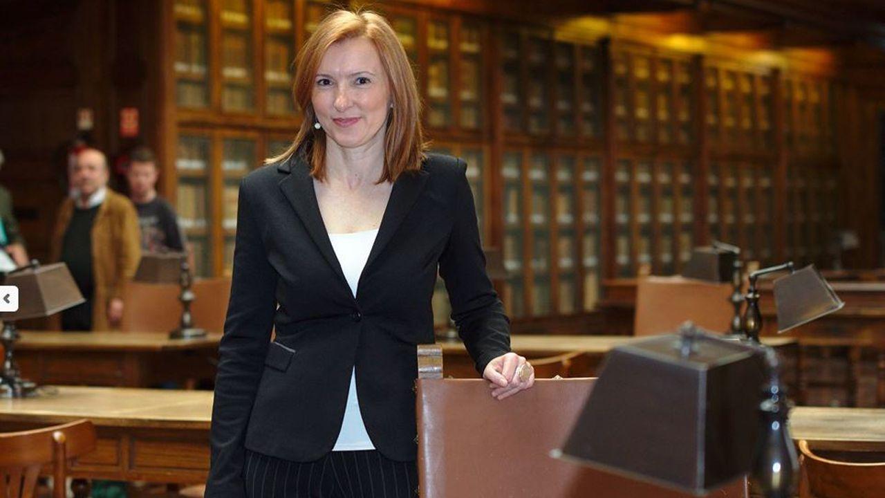Eugenia Suárez Serrano, vicerrectora de Acción Transversal y Cooperación con la Empresa