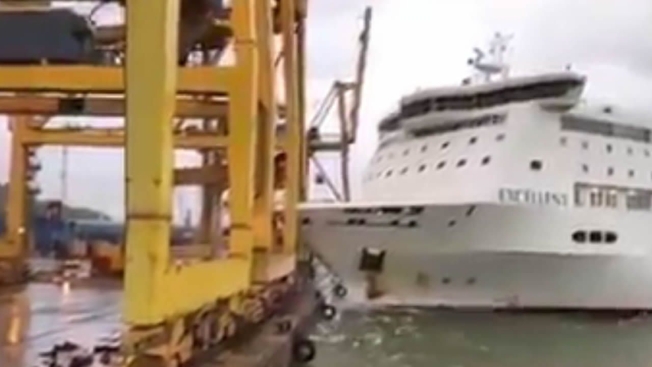 ¿Por qué ha chocado el ferry en el puerto de Barcelona?.José Marcial Doctor considera que la sucesión está «hablada y ordenada»
