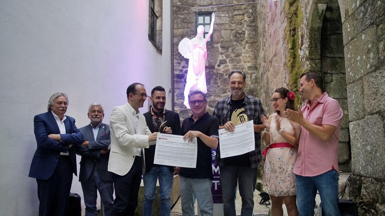 ¿Qué tienen en común Ourense y el Valle de la Muerte?.Inspección de la Guardia Civil en una cantera