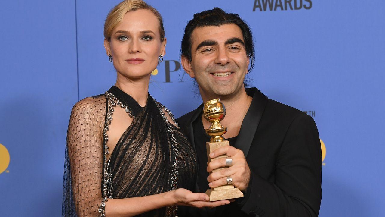 Mejor película extranjera: «En la sombra», de Fatih Akin, que posa junto a Diane Kruger.
