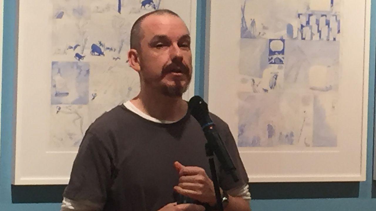 Presentación Noche Blanca Oviedo.Exposición  El arte en el cómic  en Afundación