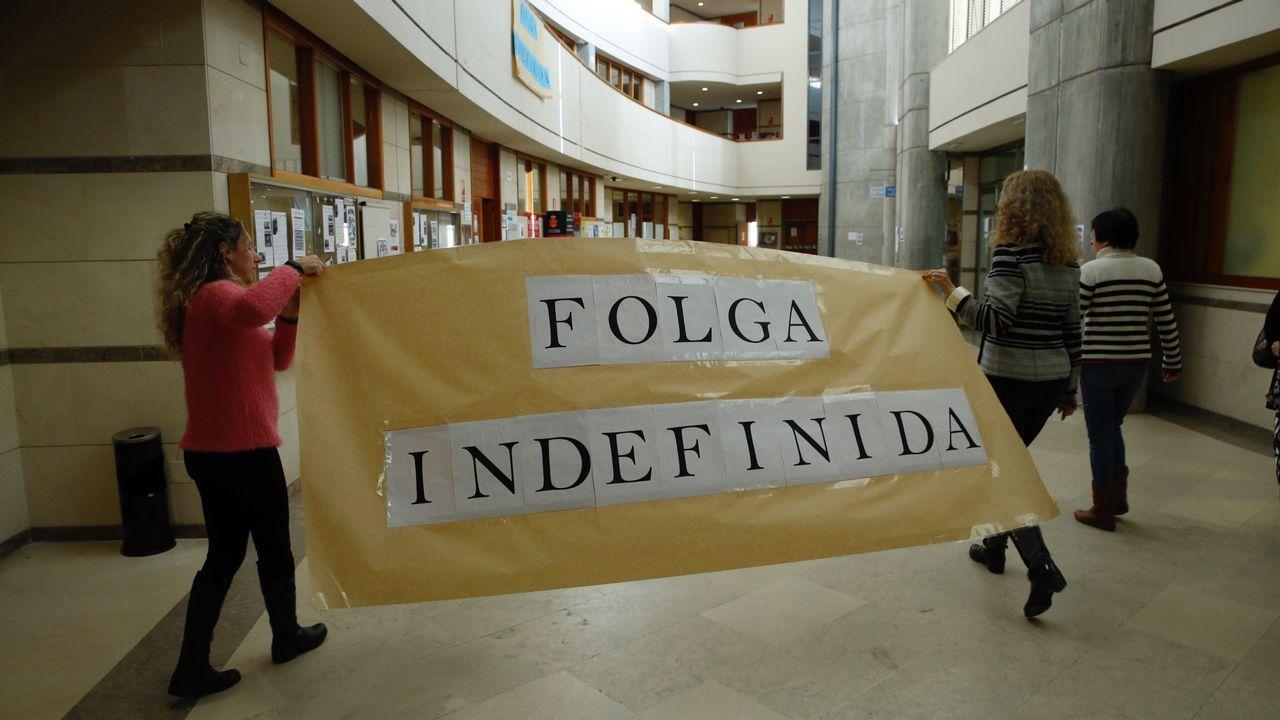 Juzgados de Fontiñas, en Santiago