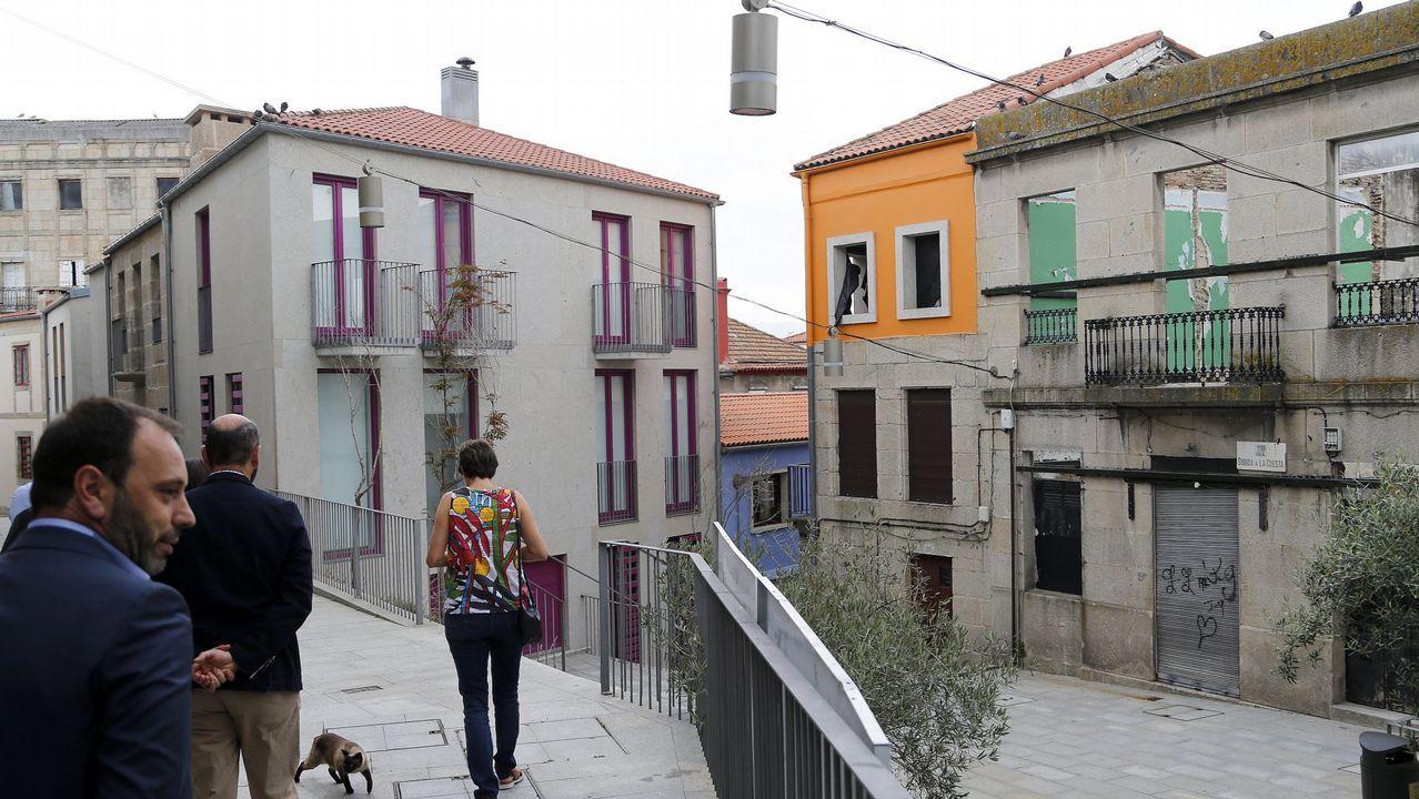 Bilbao, la vieja ciudad industrial del norte que se salvó gracias a la cultura.Rehabilitación de inmuebles en el Casco Vello de Vigo